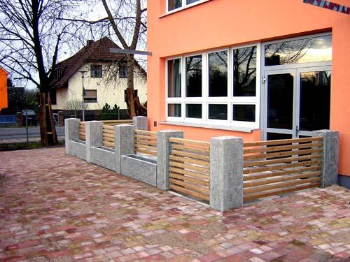 zaunanlagen schachtingem stellw nde aus beton hersteller atf leopoldshagen. Black Bedroom Furniture Sets. Home Design Ideas